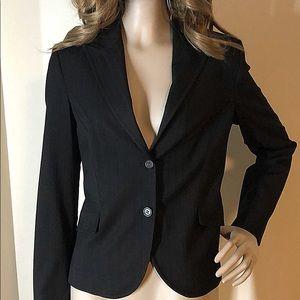 Women's Black Stripe Blazer